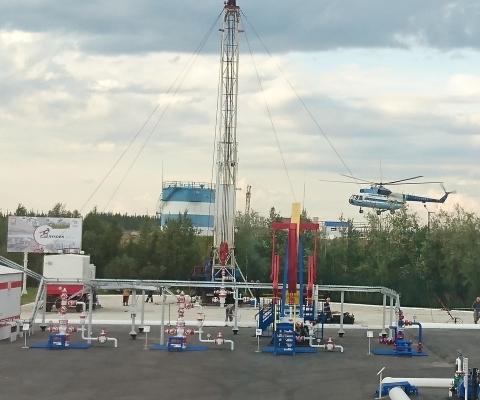 Усинск полигон по проекту НИПИ нефти  и газа УГТУ