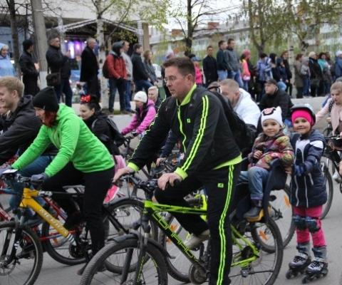 Семейный велопробег