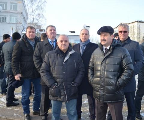 Ухтинская делегация