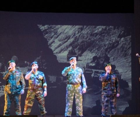 вокальная группа «Союза ветеранов Афганской войны и событий в Чечне»