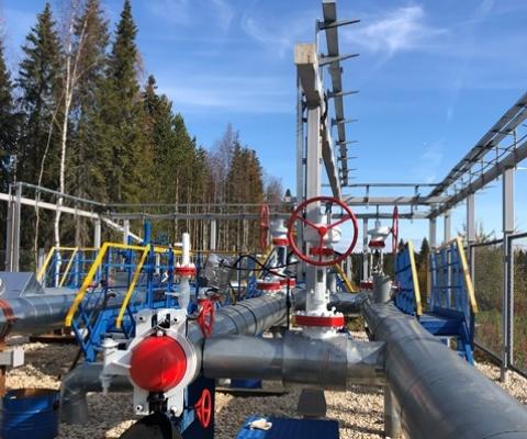 Реконструкция трубопровода УПН «Ярега» – ПСП «Ухта»