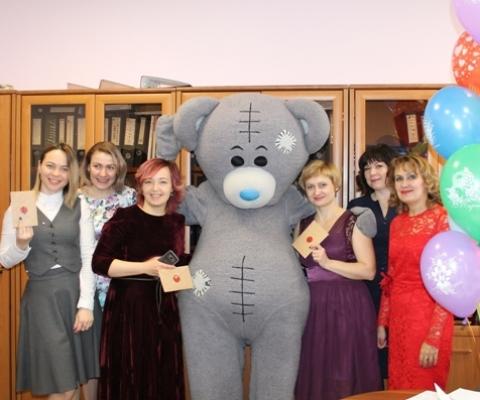 Мишка Тедди с финансовой дирекцией