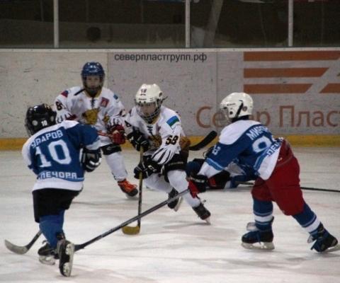 Турнир по хоккею с шайбой на призы Деда Мороза