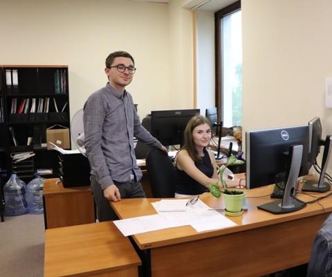 Даниил Гармашов и Алина Криницына