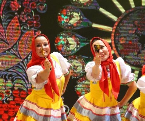 Праздничный концерт в ДК Ухты