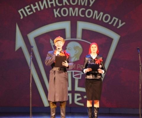 100 лет ВЛКСМ в Ухте