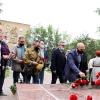 Возложение цветов к Памятной стеле воинам, погибшим в локальных войнах и конфликтах
