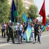 Шествие ветеранов ВДВ